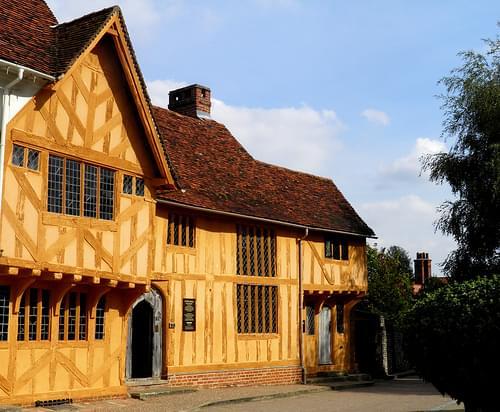 Little Hall museum Lavenham