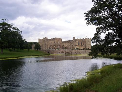Raby Castle and Pond