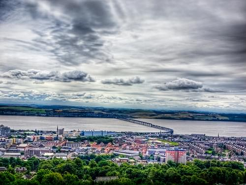 Dundee and the Tay from the Law