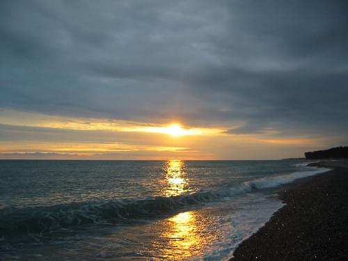 Sunset in Abkhazia (2004-07-188)