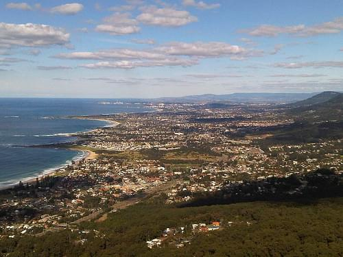 Sublime Point lookout, NSW