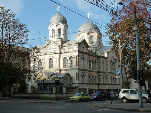 Orthodox Cathedral of the Transfiguration of the Saviour, Chisinau