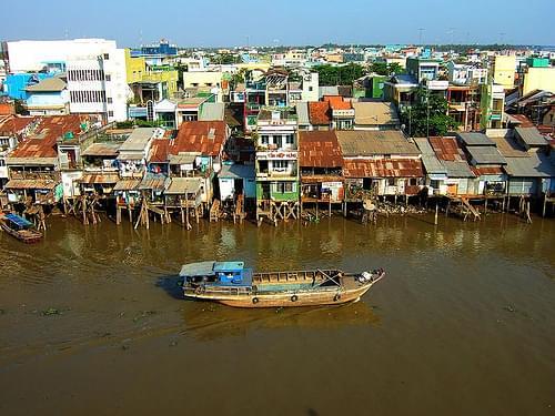 Mekong River Delta, Vietnam