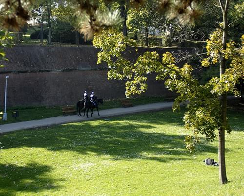 Police @ Letná Park - Praha, Czech Republic