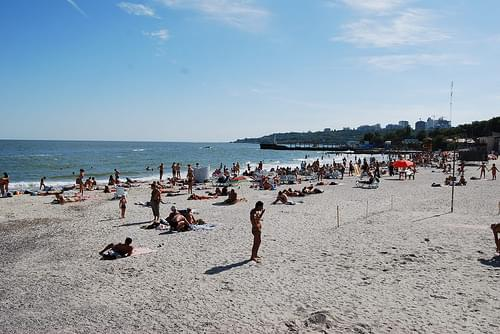 Odessa  Beach, Ukraine 2010