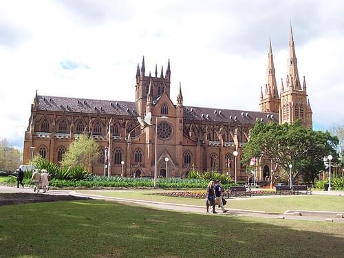 St. Mary's Cathedral, Sydney, Australia