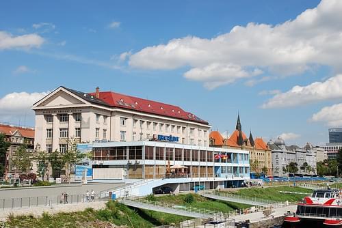 Bratislava Danube wharf