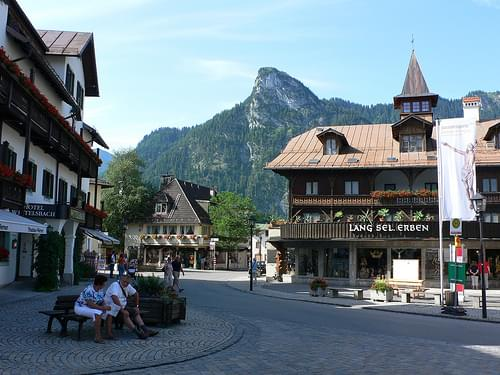 Oberammergau in Bavaria, Germany