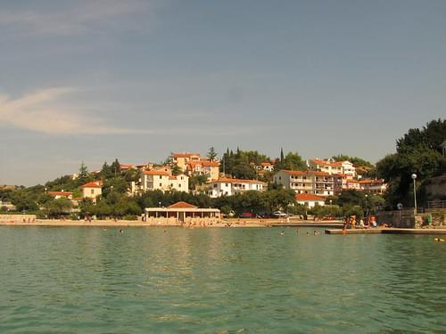 Belváros, Krk város, Krk sziget, Horvátország