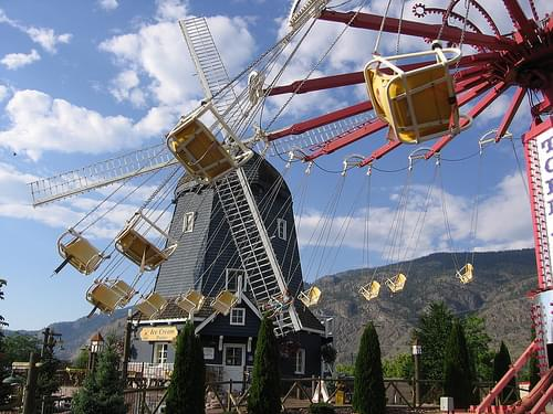 Rattlesnake Canyon Adventure Park in Osoyoos