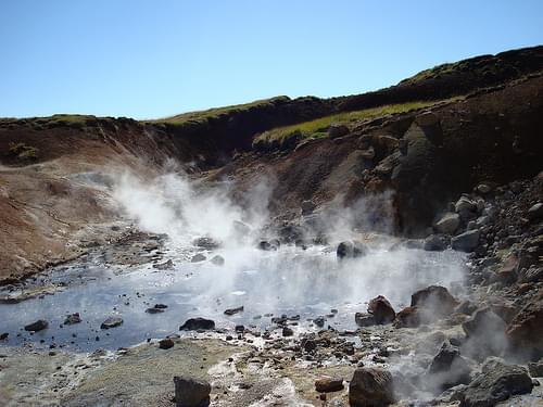 Seltún geothermal area, Iceland