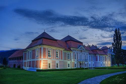 Betnava Castle at night  .:: HDR ::.