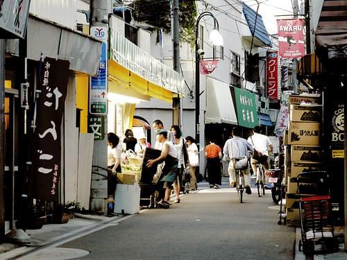 Maechi shopping street 前地通り商店街