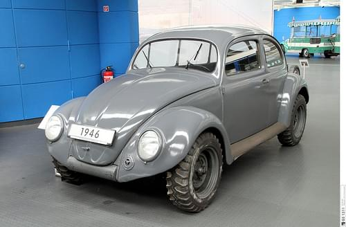 1946 Volkswagen Kommandeurwagen Typ 877 Käfer (01)