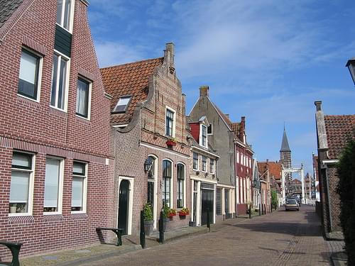 Edam - Façades sur Hoogstraat