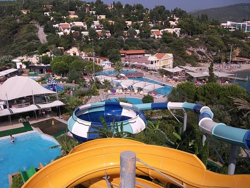 Pine Bay resort from water park