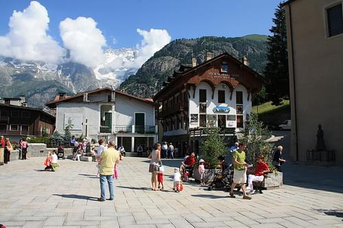 Town Center, Courmayeur