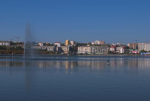 der See in Ternopil