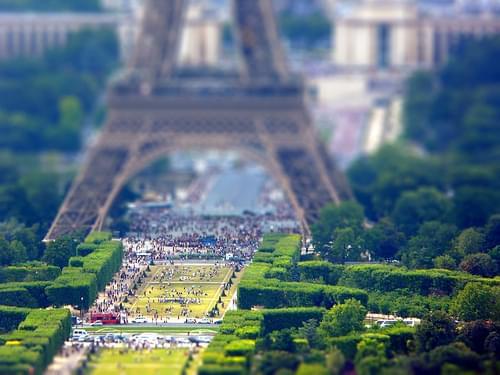 Paris - Tilt-shift