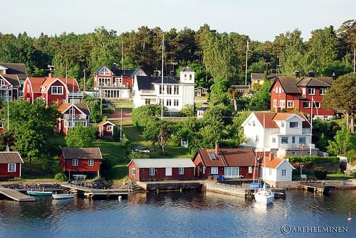 Small town near Stockholm