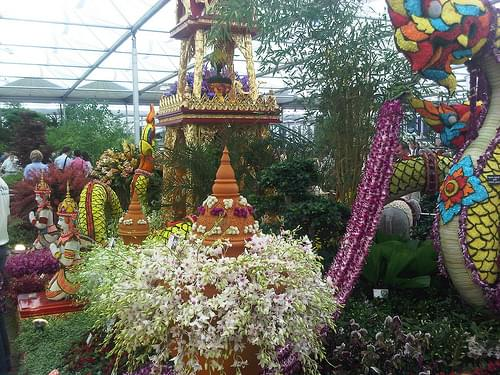 Thailand's first display