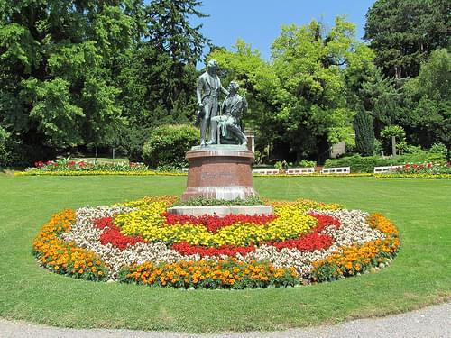 Kurpark, Baden