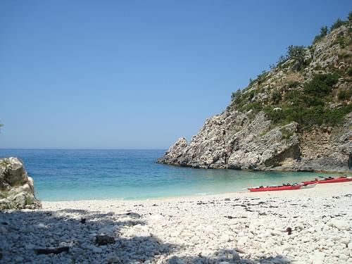 Sea Kayaking in Albania