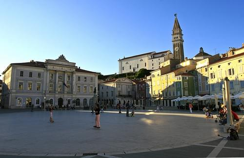 Skaters on Tartini's square