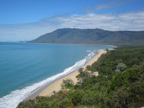 Half between Cairns and Port Douglas