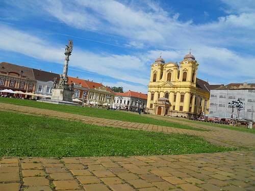 La place de l'Union a Timisoara