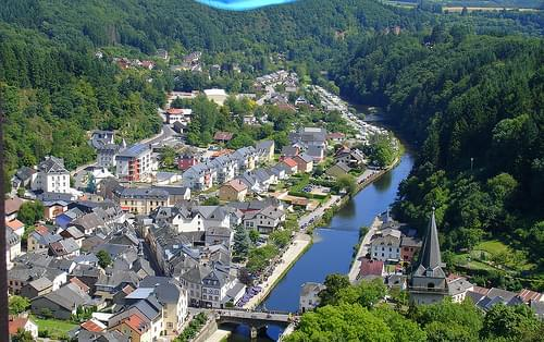Vianden village