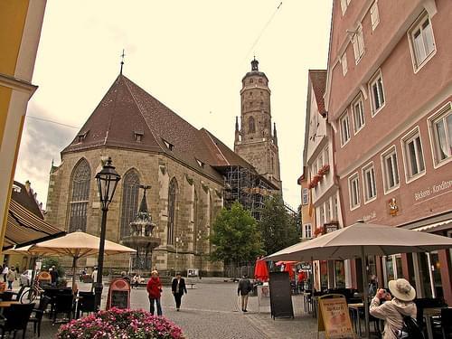 Nordlingen,Bavaria,StGeorgesChurch
