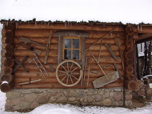 Dudutki museum of Belarusian country lifestyle