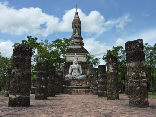 Wat Traphang Ngoen, Sukhothai, Thailand
