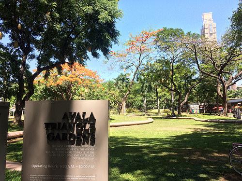 170513 阿亞拉三角公園 Ayala Triangle Garden