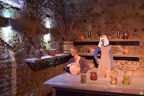 Underground tavern