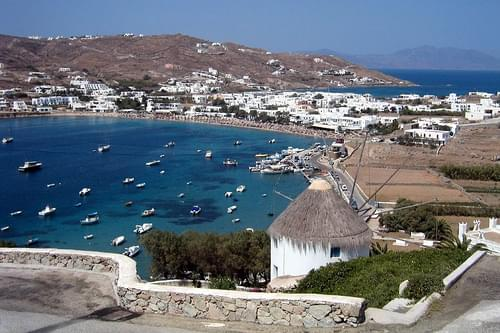 Greece - Mykonos: Ornos