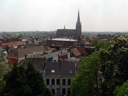 Turnhout vanuit de lucht: vanop het dak van De Warande
