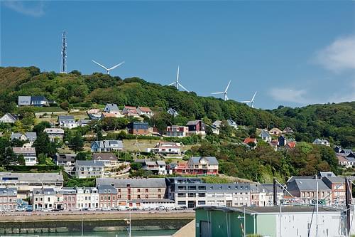Éoliennes de Fécamp