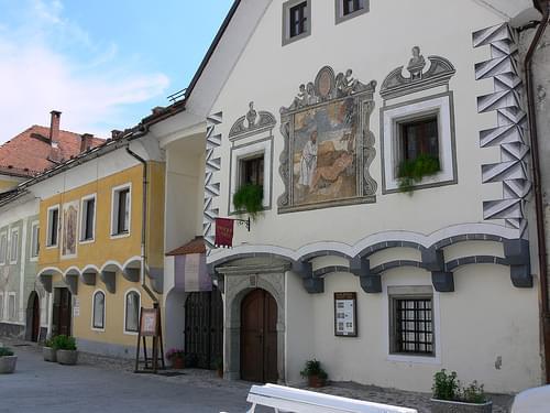 Houses in Radovljica