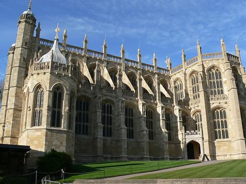 St Georges Chapel at Windsor Castle 2