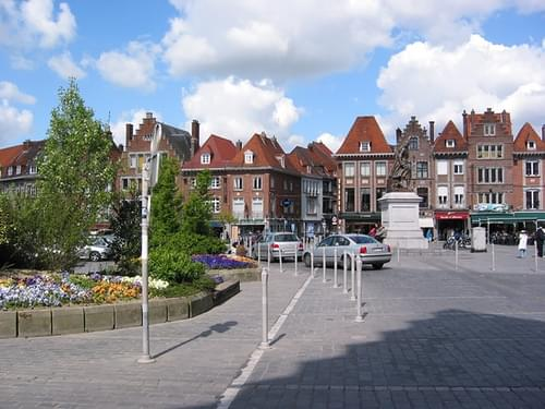 Historic Center, Tournai