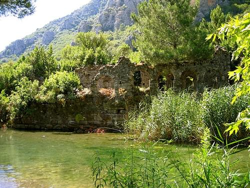 The Ruins at Olympos