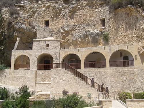 The monastery of Agios Neophytos