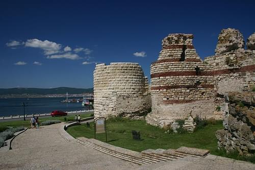 Ruined city wall, Nesebar - Bulgaria