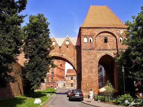 Teutonic Defensive Walls and Fortifications, Toruń