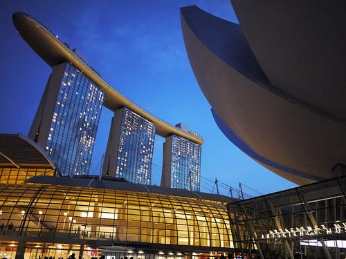 Marina Bay Sands : ArtScience Museum