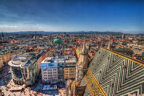 On top of Vienna