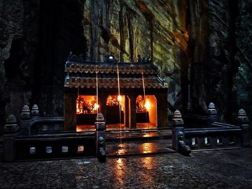 Huyen Khong cave temple, Marble Mountains, Vietnam