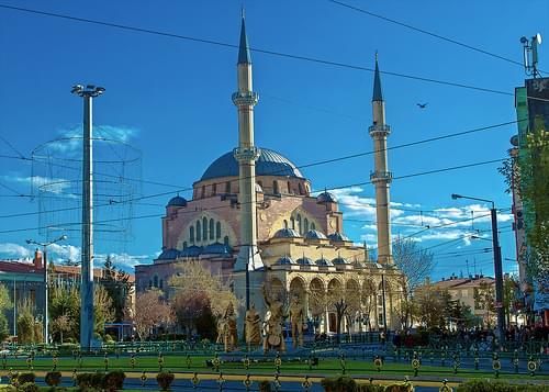 Mezquita Resadiye. Eskisehir.